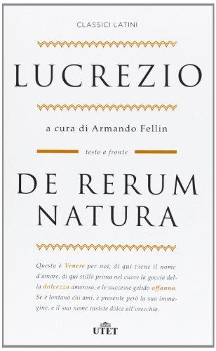 9788841886953: De rerum natura. Testo latino a fronte (Classici latini)