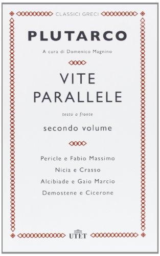9788841886984: Vite parallele. Testo greco a fronte vol. 2