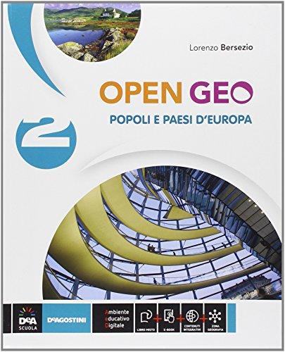 9788841887318: Open Geo. Per la Scuola media. Con e-book. Con espansione online: 2