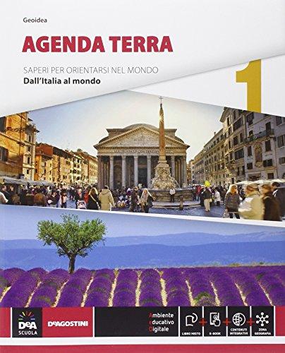 9788841887431: Agenda terra. Atlante di geo-storia. Per le Scuole superiori. Con e-book. Con espansione online: 1