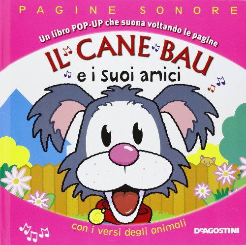 9788841898932: Il cane Bau e i suoi amici. Libro pop-up