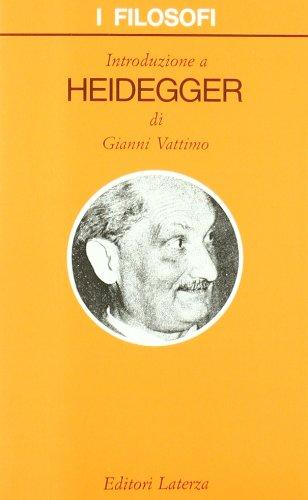 Introduzione a Heidegger: Vattimo, Gianni