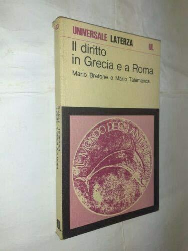 9788842018520: Il diritto in Grecia e a Roma
