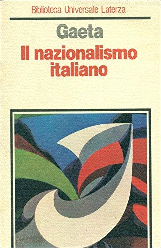 9788842018612: Il nazionalismo italiano