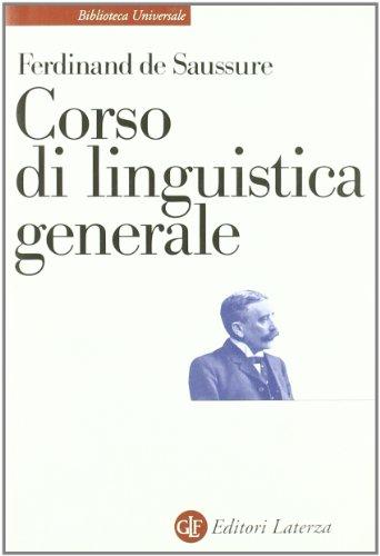 9788842021162: Corso di linguistica generale
