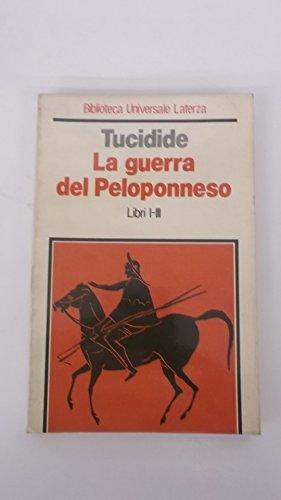 9788842027133: La guerra del Peloponneso: 1