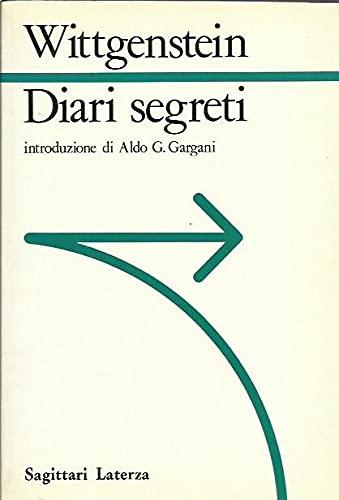 9788842028314: Diari segreti (Sagittari Laterza) (Italian Edition)