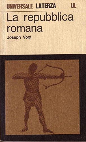 9788842028420: La repubblica romana (Biblioteca universale Laterza)