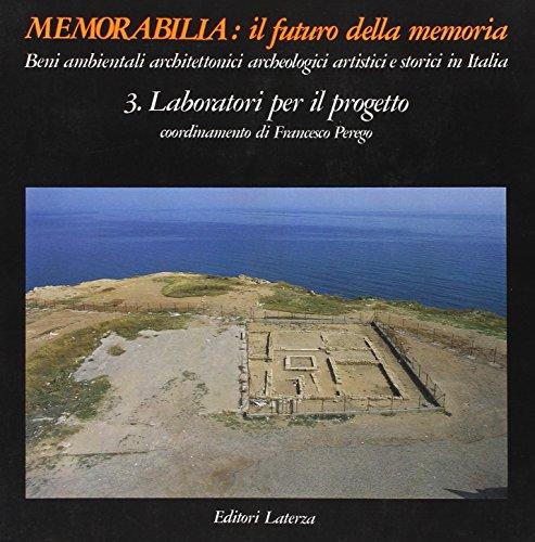 Memorabilia: Il Futuro della Memoria. Beni ambientali: Francesco Perego