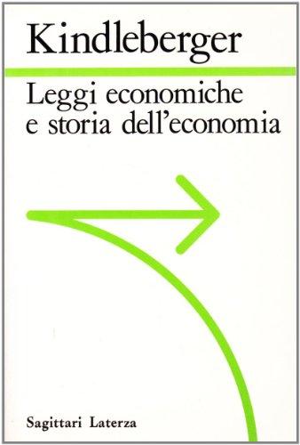 9788842036241: Leggi economiche e storia dell'economia