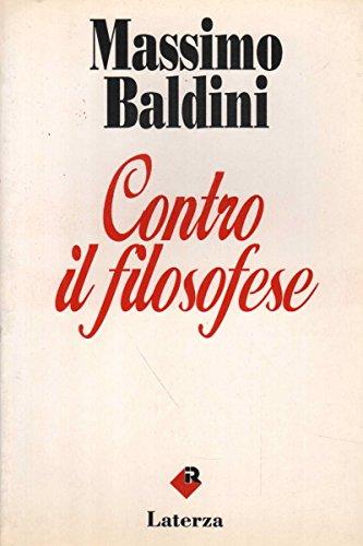 9788842038436: Contro il filosofese (I Robinson) (Italian Edition)