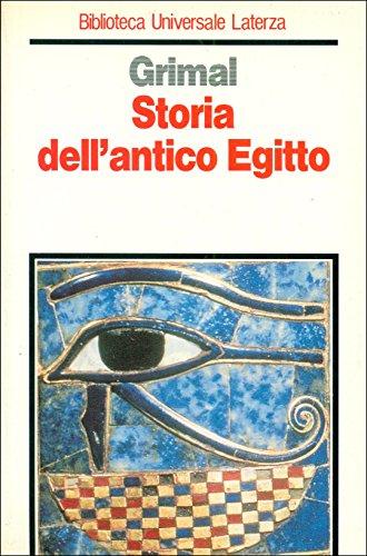 9788842039327: Storia dell'antico Egitto (Biblioteca universale Laterza)