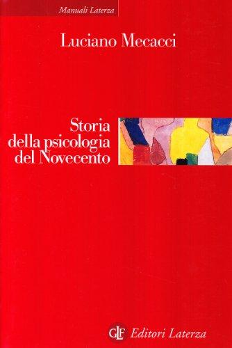 9788842041177: Storia della psicologia del Novecento