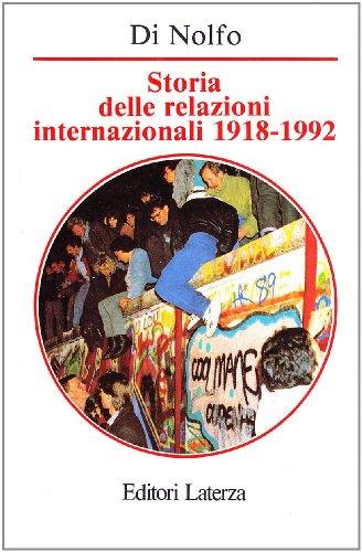 9788842043256: Storia delle relazioni internazionali, 1918-1992 (Manuali Laterza) (Italian Edition)