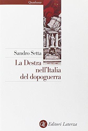 9788842045915: La destra nell'Italia del dopoguerra