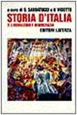 9788842047735: Storia d'Italia. Liberalismo e democrazia (1887-1914) (Vol. 3)