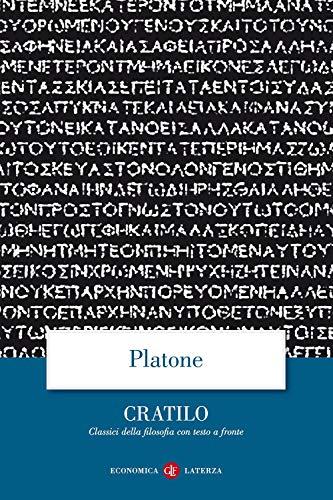 9788842050742: Cratilo. Testo greco a fronte (Economica Laterza. Classici filosofia)
