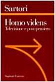 9788842053552: Homo videns: Televisione e post-pensiero (Sagittari Laterza) (Italian Edition)