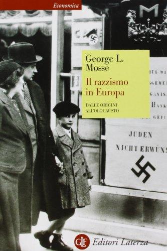 9788842054016: Il razzismo in Europa. Dalle origini all'olocausto