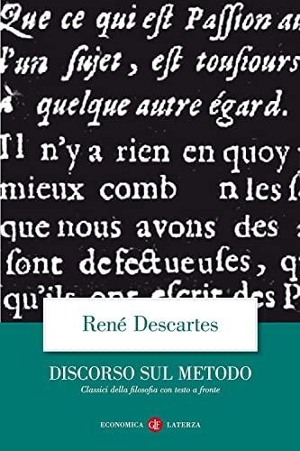 9788842054146: Discorso del metodo. Testo francese a fronte