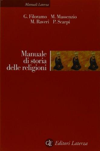 9788842055044: Manuale di storia delle religioni