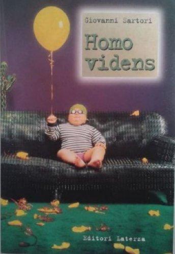 9788842057789: Homo videns: Televisione e post-pensiero (I Robinson) (Italian Edition)