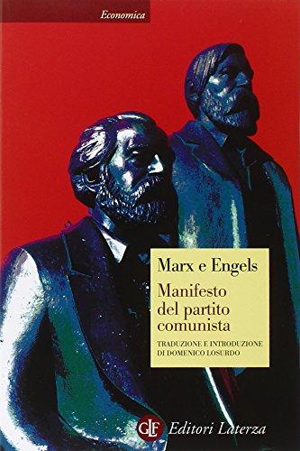 Manifesto del Partito Comunista (Paperback): Friedrich Engels, Karl