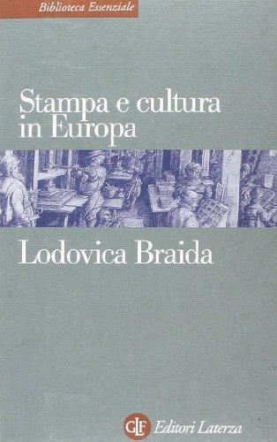 9788842060314: Stampa e cultura in Europa tra XV e XVI secolo