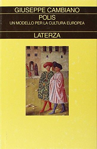 9788842061274: Polis: Un modello per la cultura europea (Collezione storica)