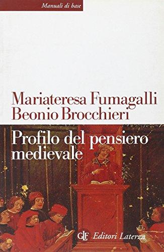 Profilo del pensiero medievale.: Fumagalli Beonio Brocchieri,M.