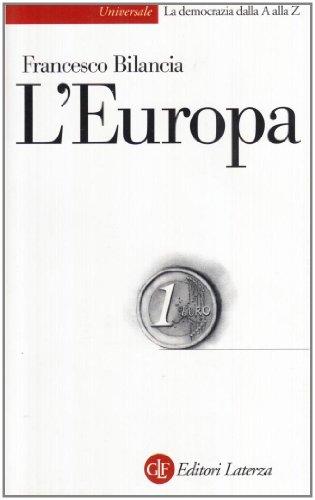L' Europa.: Bilancia,Francesco.