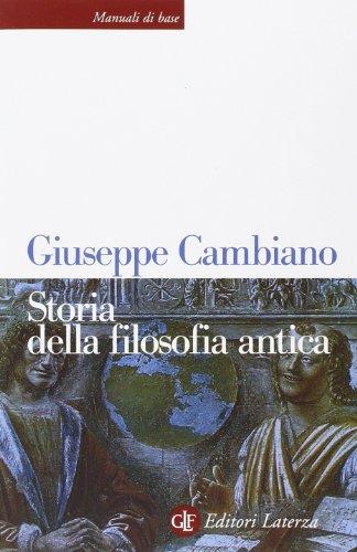 9788842073253: Storia della filosofia antica
