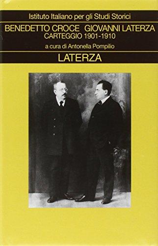 9788842074632: Carteggio vol. 1 - 1901-1910
