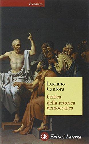 9788842076292: Critica della retorica democratica