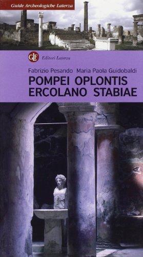 9788842077831: Pompei, Oplontis, Ercolano, Stabiae