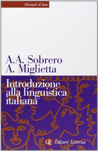 9788842079422: Introduzione alla linguistica italiana