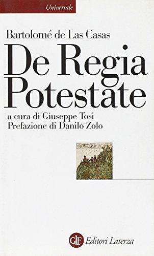 9788842081814: De Regia Potestate (Universale Laterza)