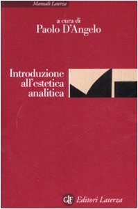 9788842085935: Introduzione all'estetica analitica