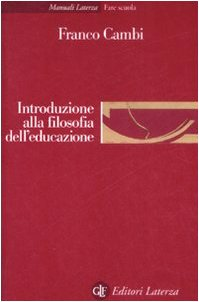 9788842087854: Introduzione alla filosofia dell'educazione