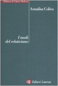 9788842088363: I modi del relativismo