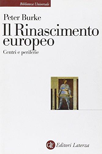 9788842090465: Il Rinascimento europeo. Centri e periferie