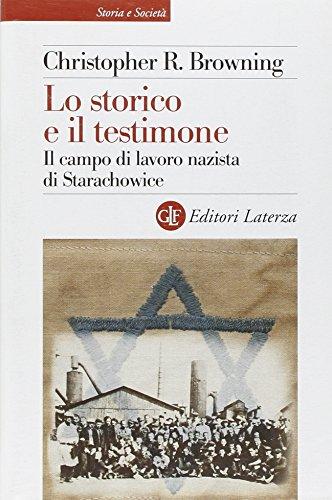 Lo storico e il testimone. Il campo di lavoro nazista di Starachowice (8842092835) by Christopher R. Browning