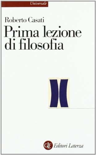 9788842095491: Prima lezione di filosofia (Universale Laterza)