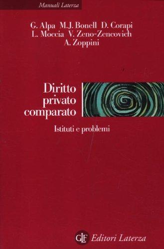 9788842099543: Diritto privato comparato. Istituti e problemi