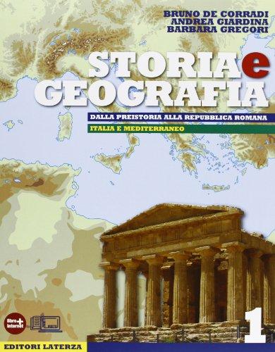 9788842112112: Storia e geografia. Con materiali per il docente. Con espansione online. Per le Scuole superiori: 1