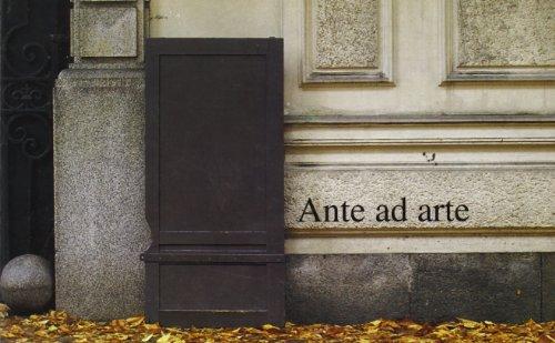 Ante Ad Arte: In Borgonuovo a Torino: Mantovani, Pino