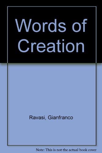 9788842207788: Words of Creation
