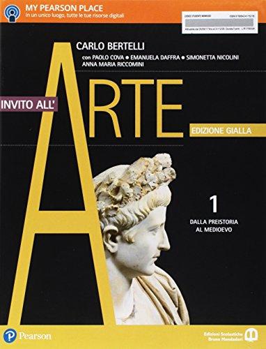 9788842417521: Invito all'arte. Ediz. gialla. Per le Scuole superiori. Con e-book. Con espansione online. Dalla Preistoria al Medioevo (Vol. 1)