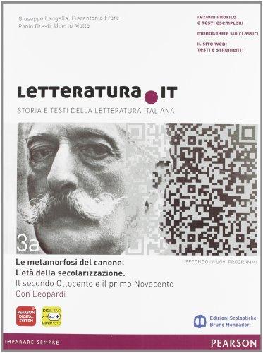 9788842433095: Letteratura.it. Vol. A-B. Per le Scuole superiori. Con espansione online: 3