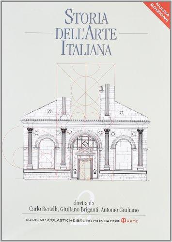 9788842446699: Storia dell'arte italiana. Per le Scuole superiori: 2